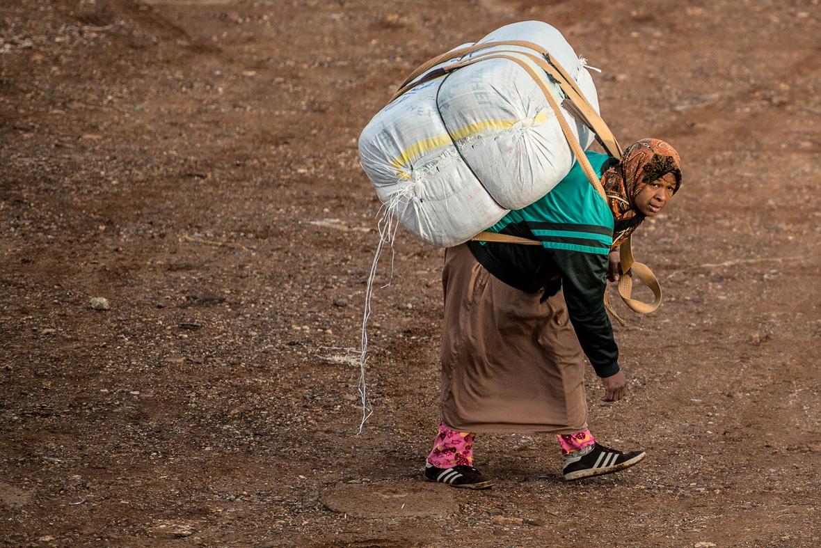 mule women of Melilla