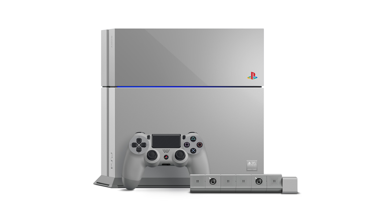 20th Anniversary PS4