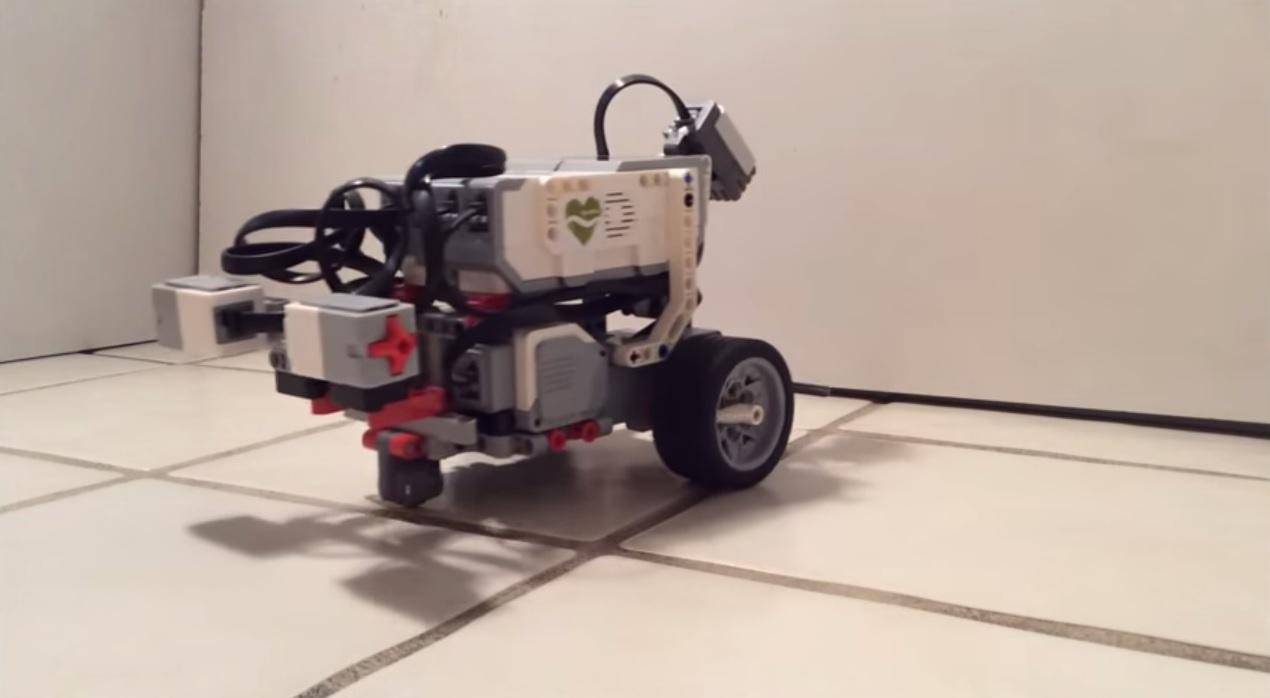 openworm lego robot worm brain