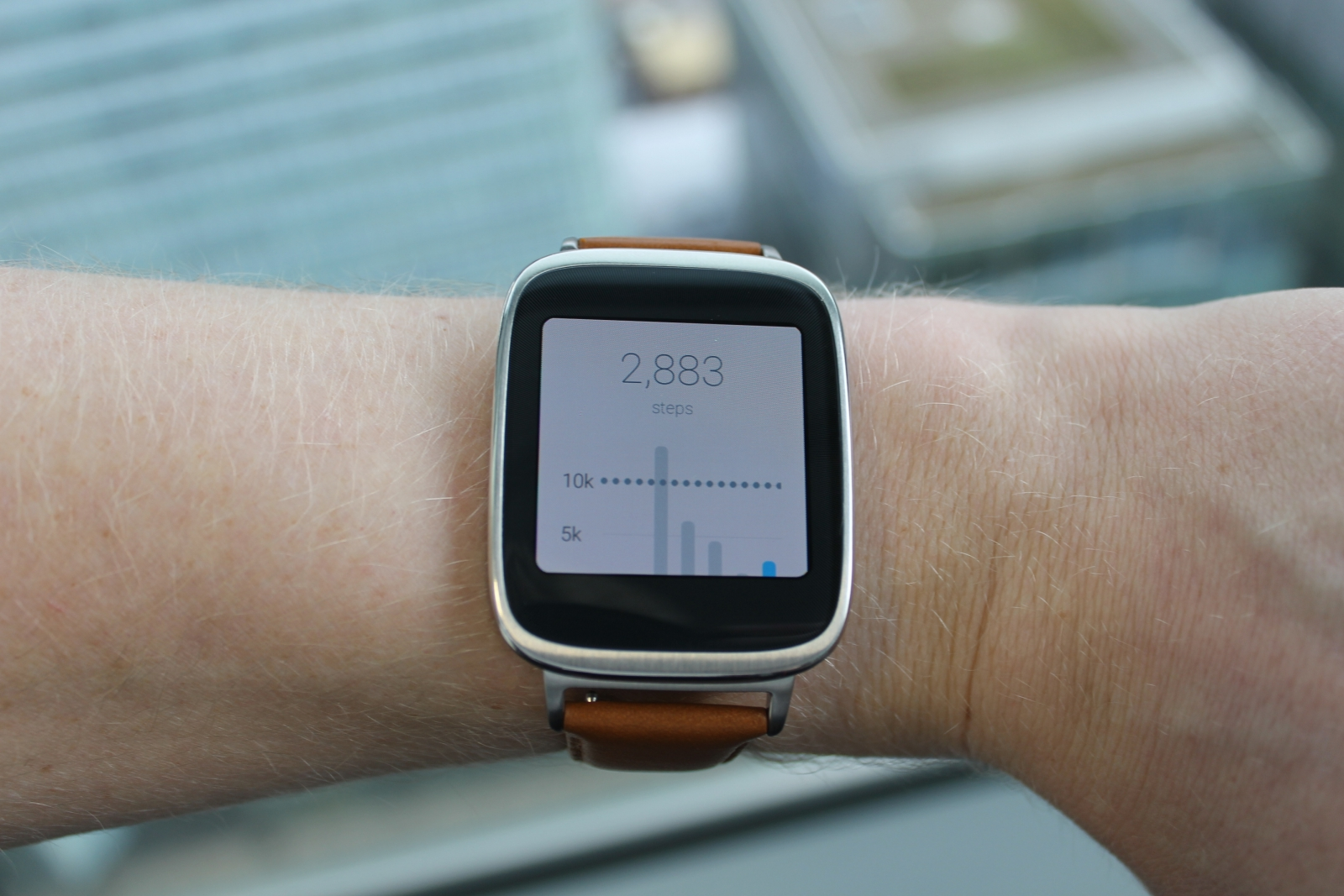 asus zenwatch review battery