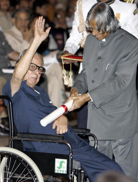 Indian cartoonist R. K. Laxman