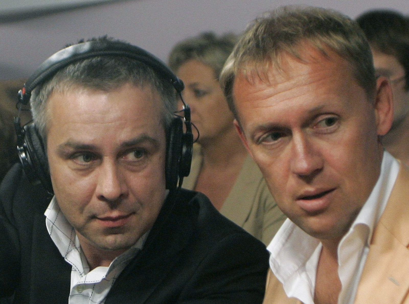 Andrei Lugovoy and Dmitry Kovtun