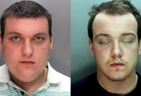 Jack Sibley (left) and Warren Reid were jailed for attacking Sibley\'s own grandfather