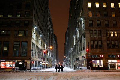 new york snow