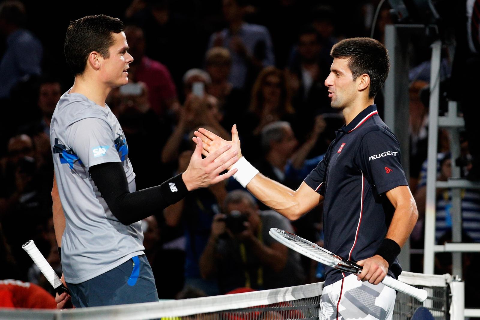 Novak Djokovic v Milos Raonic