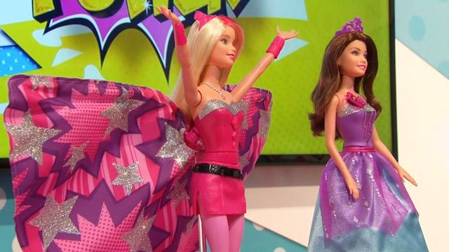 Mattel hopes superhero Barbie will rejuvenate sales