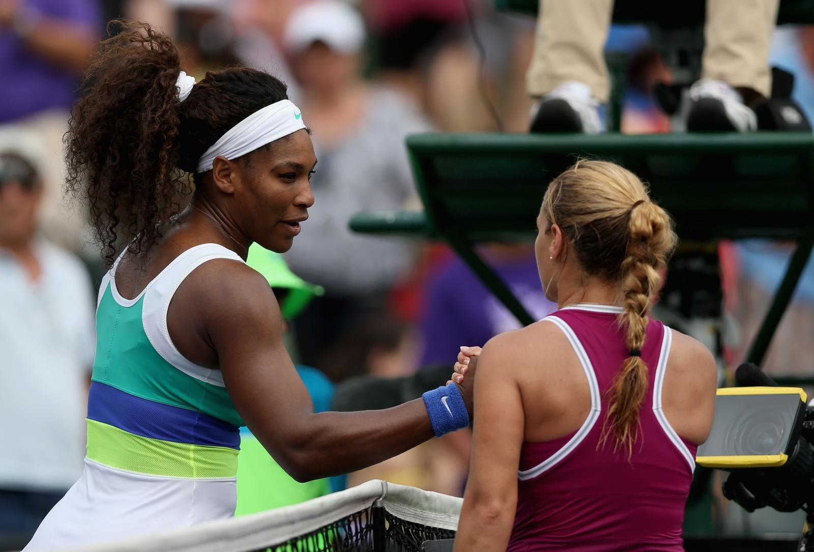 Serena Williams v Dominka Cibulkova