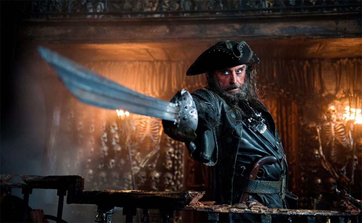 Could the fearsome pirate Blackbeard have cared about the health of his crew?