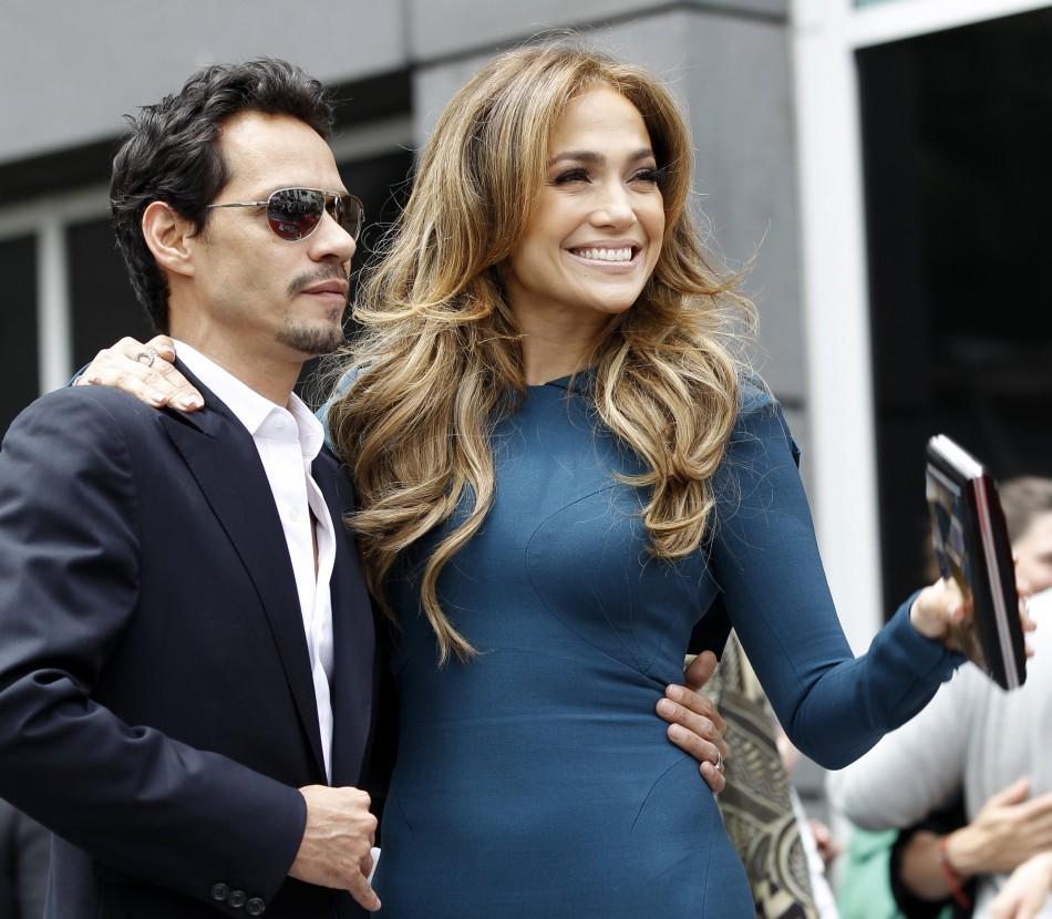 Jennifer Lopez and ex-husband Marc Anthony