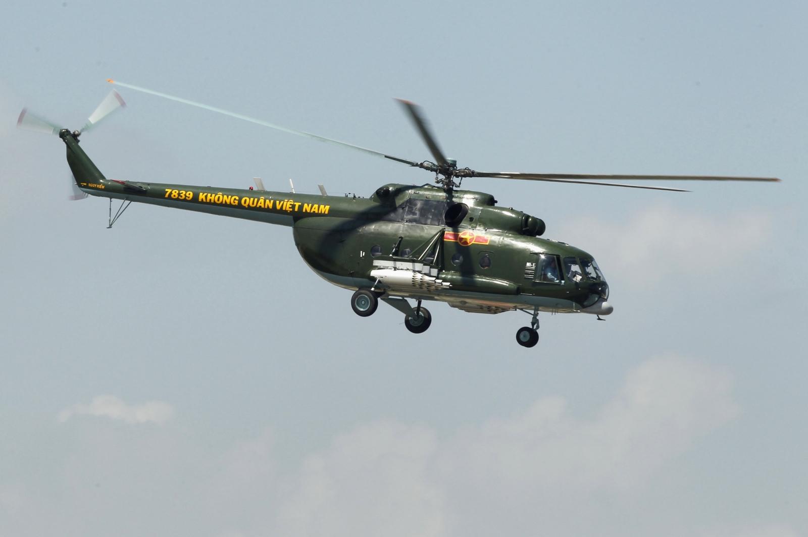 Vietnam helicopter crash