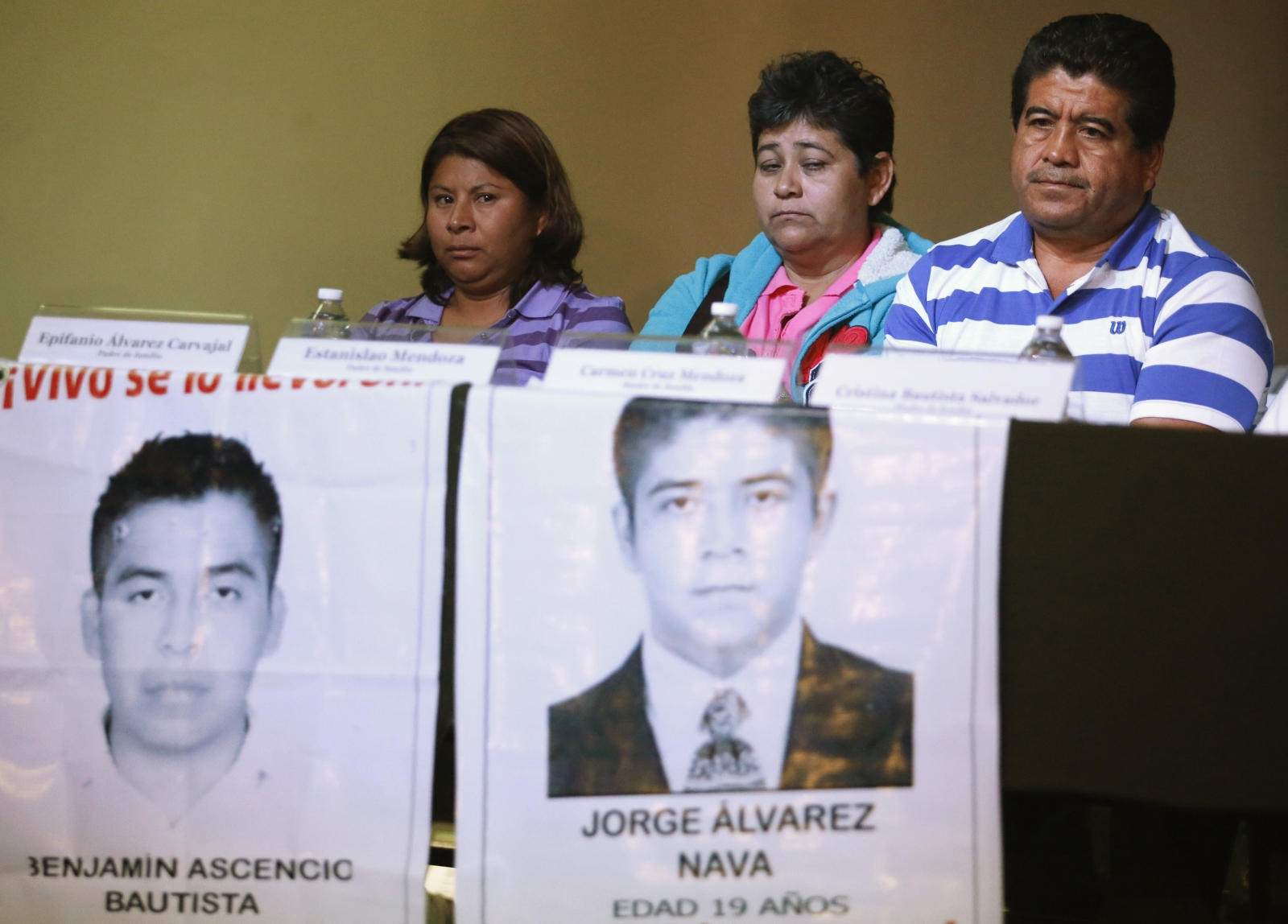 Mexico confirms missing 43 students slaughtered and incinerated