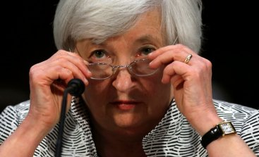 A file photograph of Janet Yellen