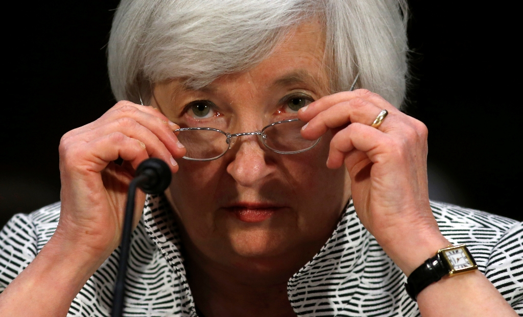 US Fed Chair Janet Yellen