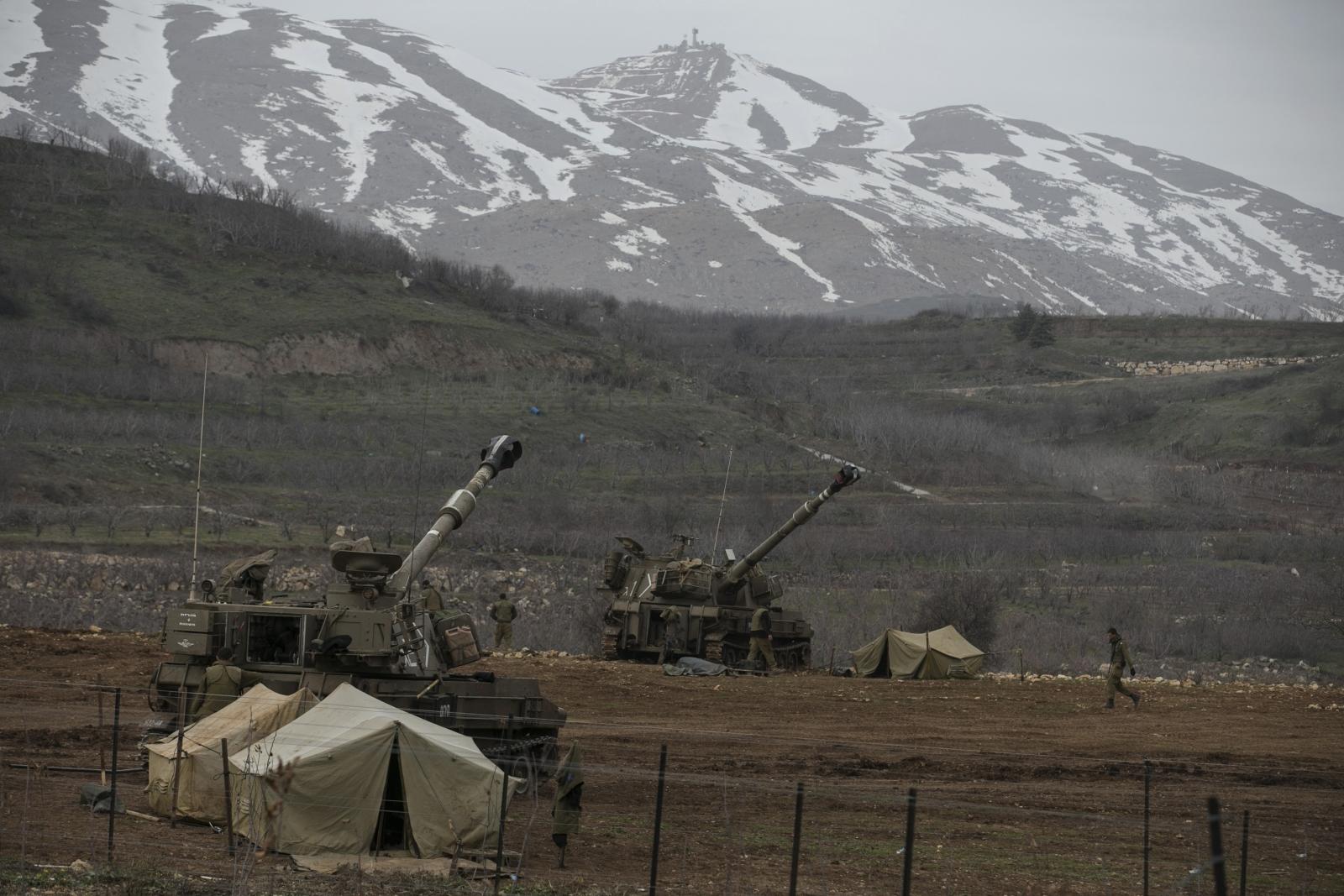 Israel Golan Heights soldiers