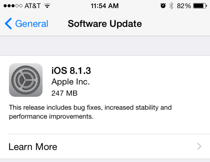 iOS 8.1.3: How to download
