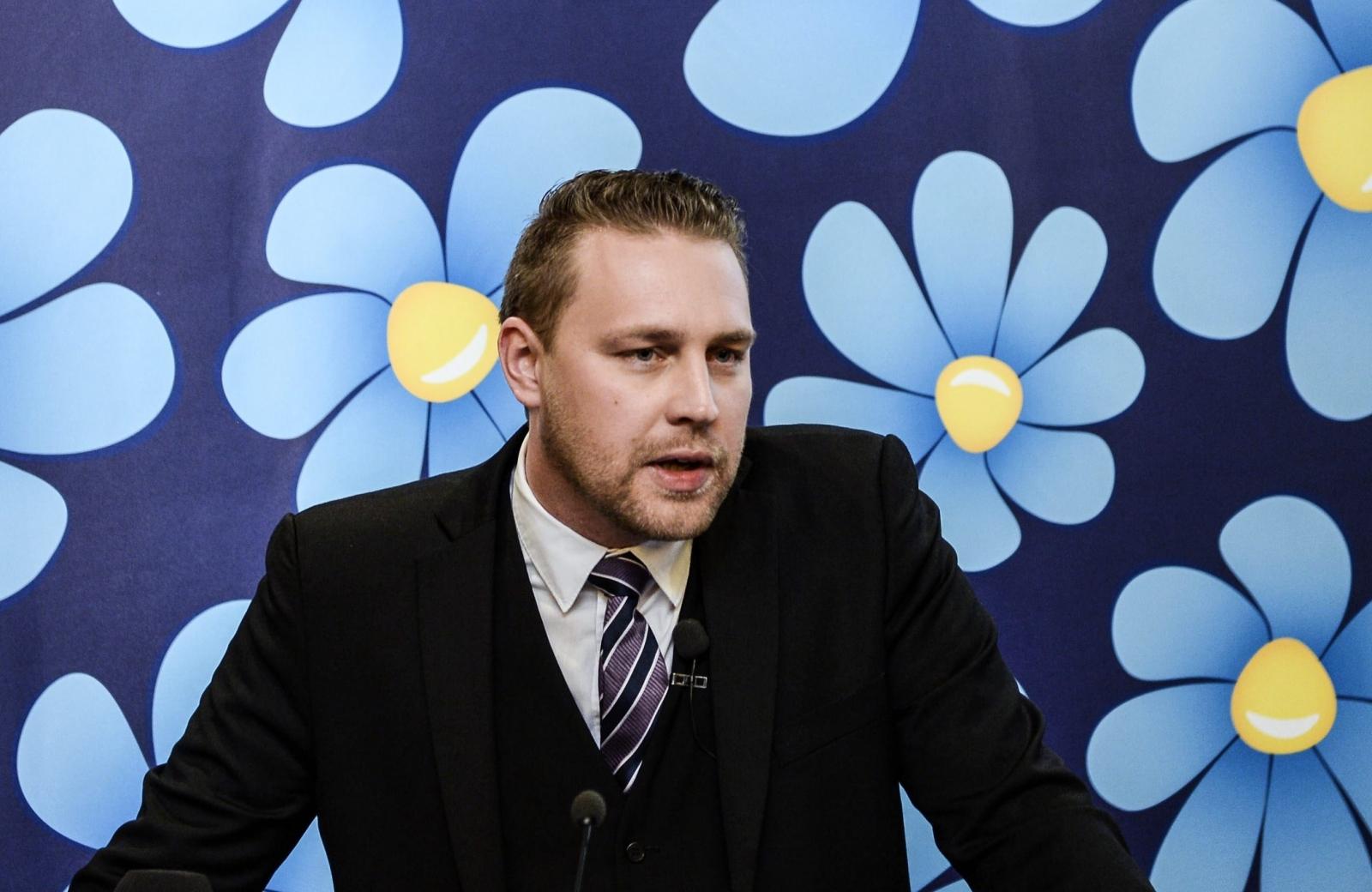 Mattias Karlsson's of the far-right Sweden Democrats (Getty)
