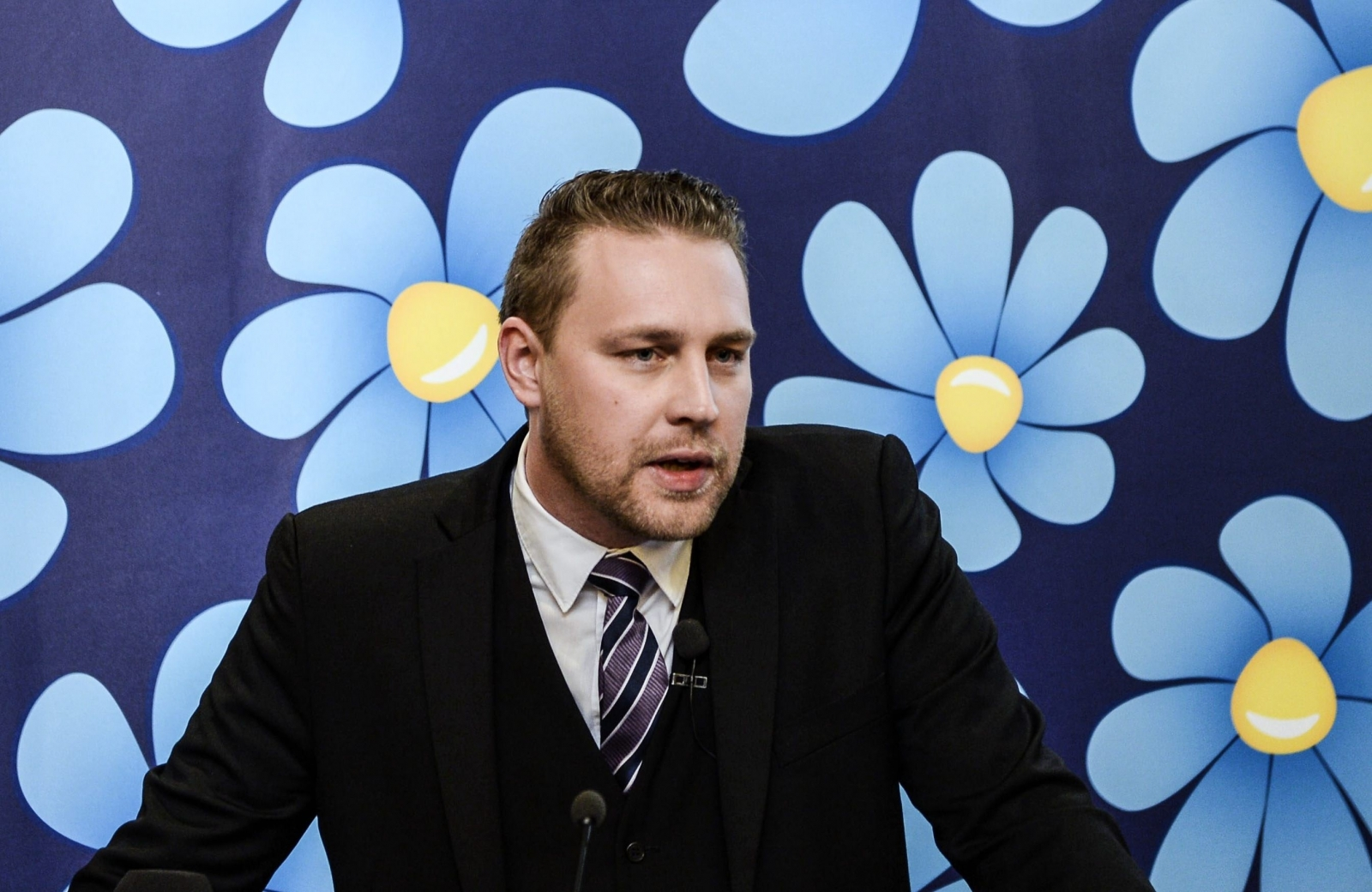Mattias Karlsson's of the far-right Sweden Democrats (Getty)