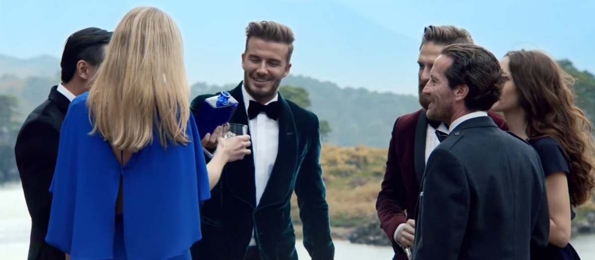 David Beckham Haig Whisky