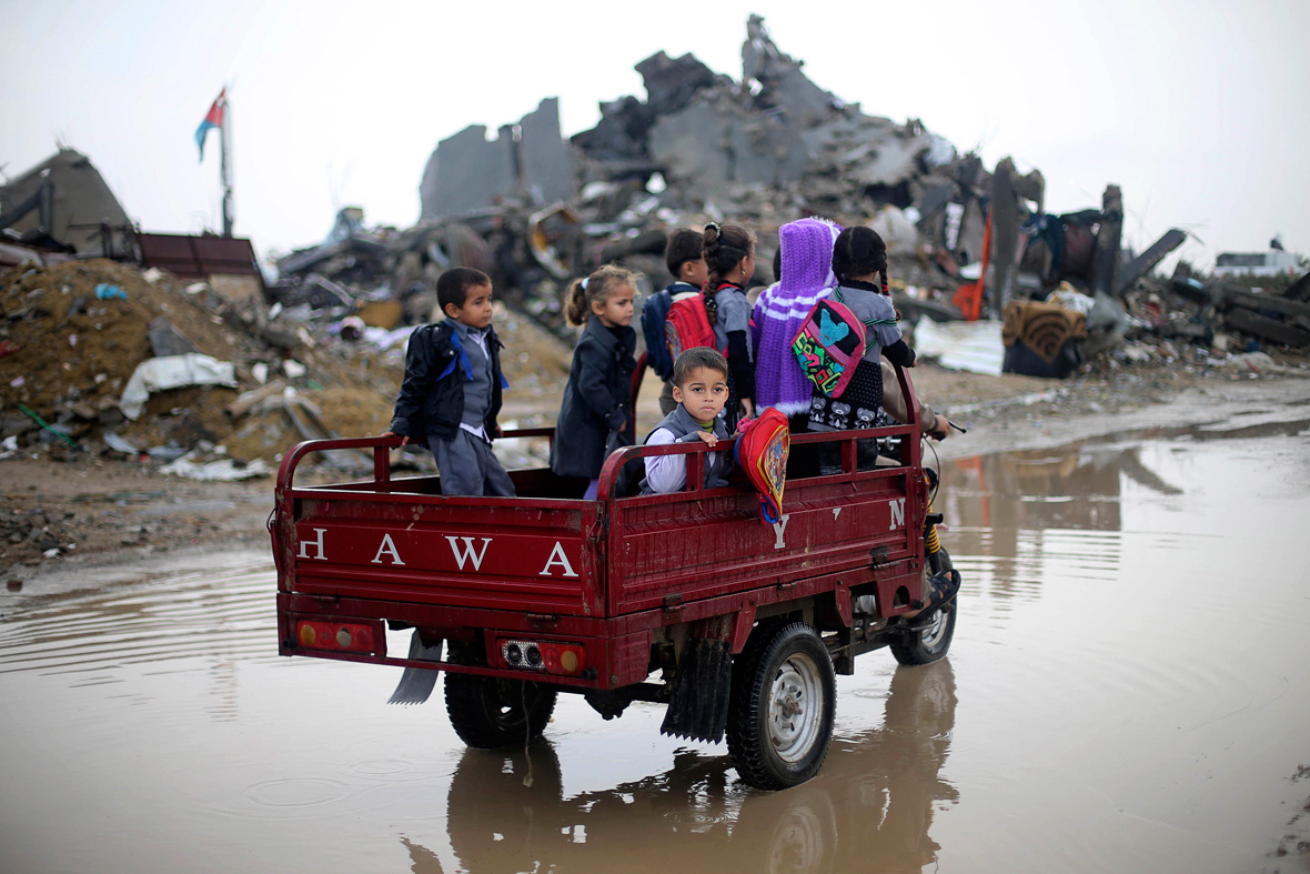 Gaza living in ruins