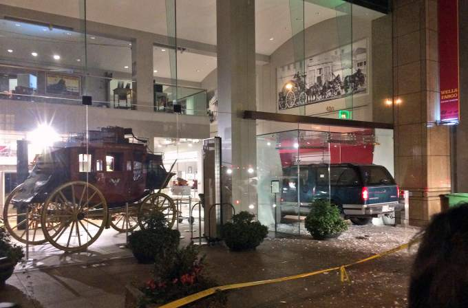 Wells Fargo Muesum in San Francisco robbed of Gold Rush-era nuggets