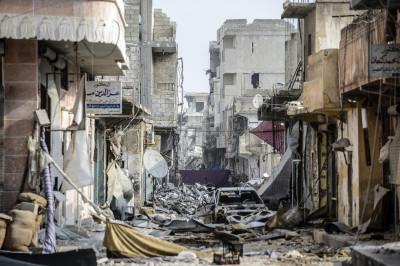 Inside Kobani