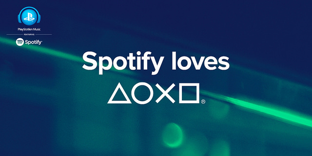 PlayStation Spotify Music