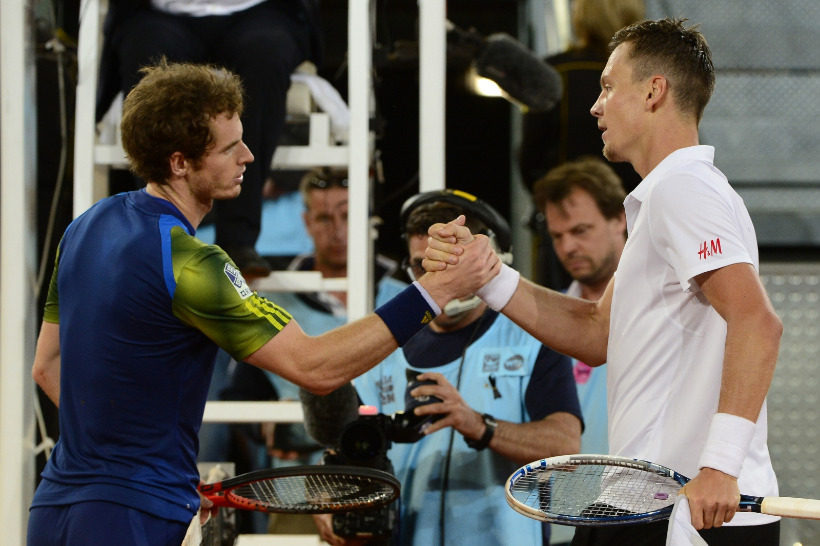 Tomas Berdych v Andy Murray