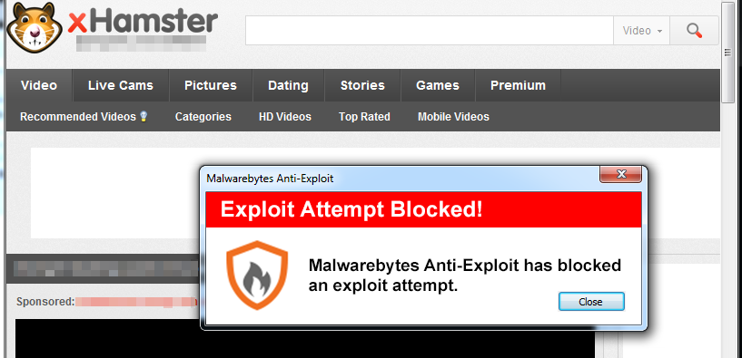 xHamster Malware campaign