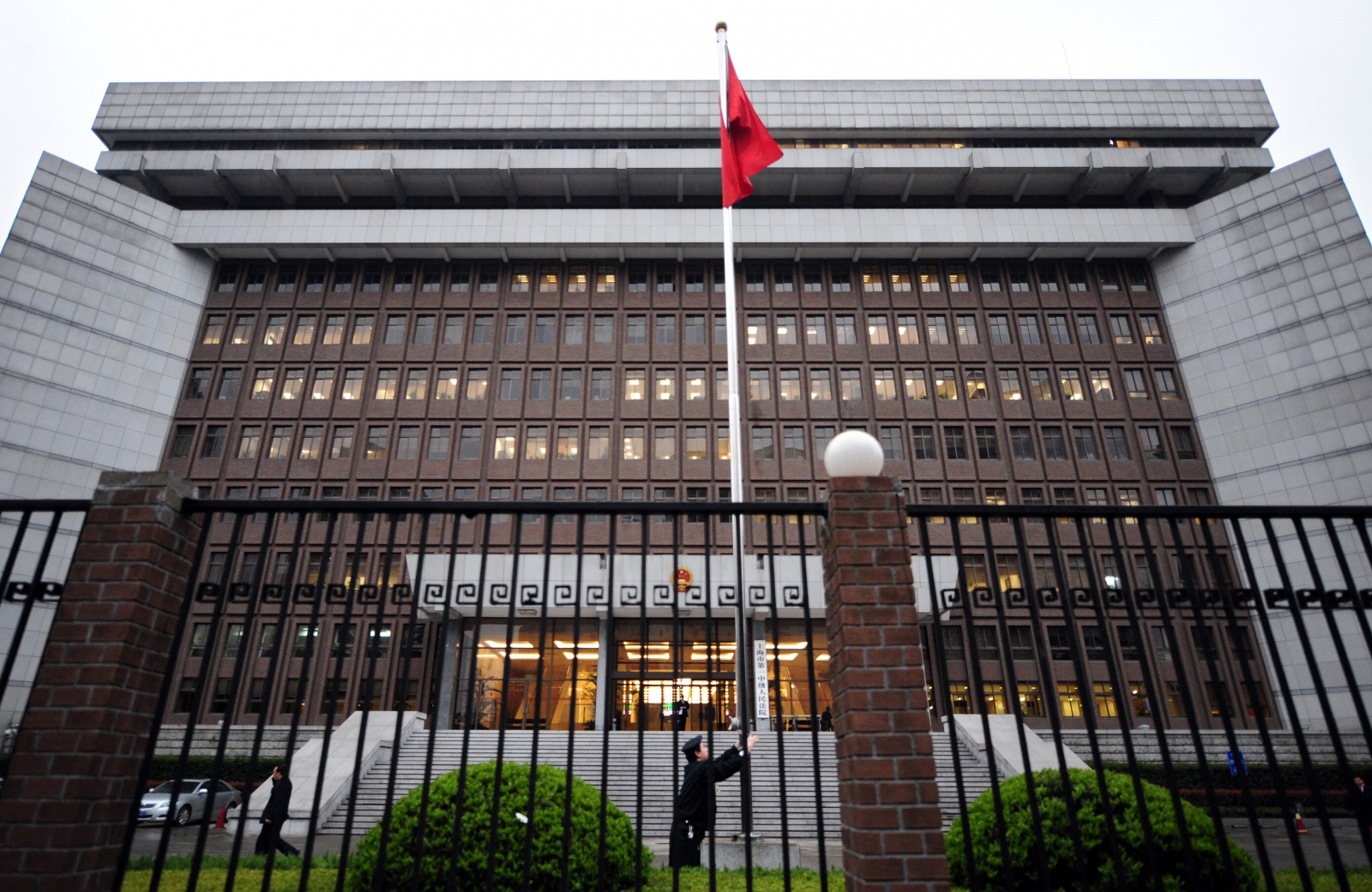 A Beijing courthouse. Following a spate of suicides, China has launched an investigation. (Getty)