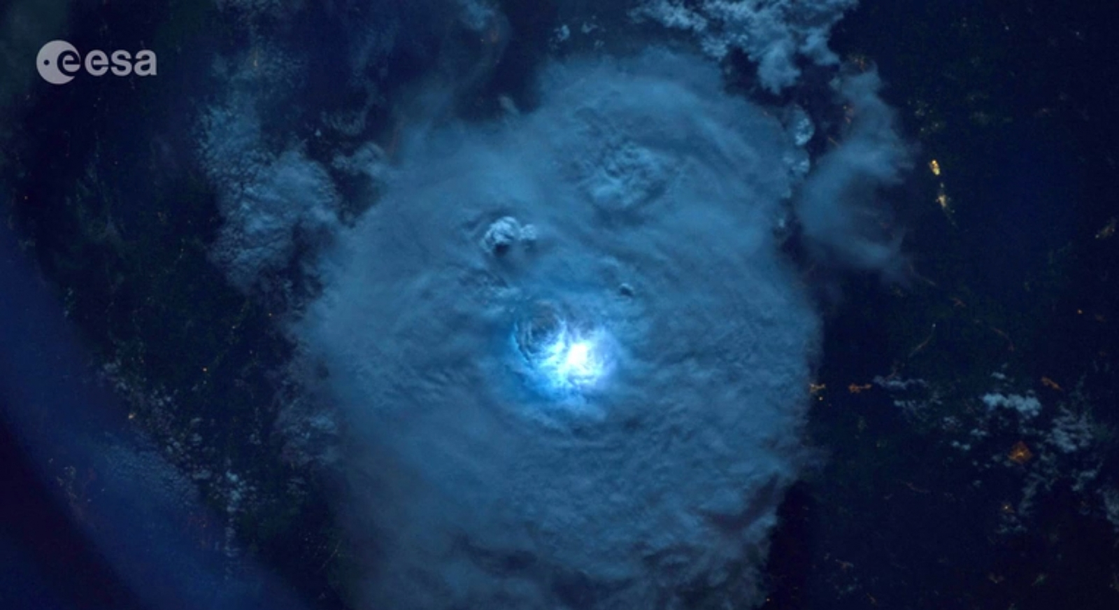 This is what lightning looks like from space