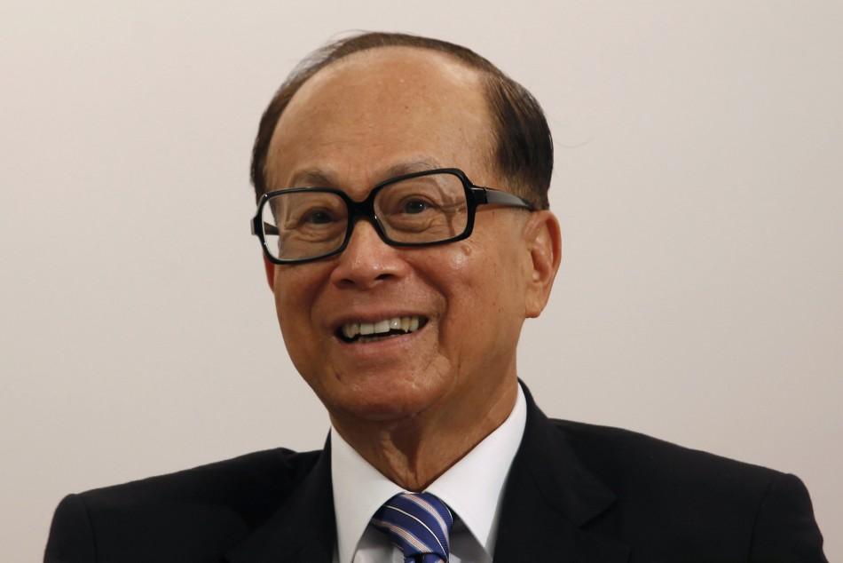9. Hong Kong's Li Ka-shing