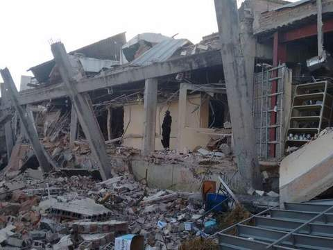 Mexico maternity hospital gas explosion