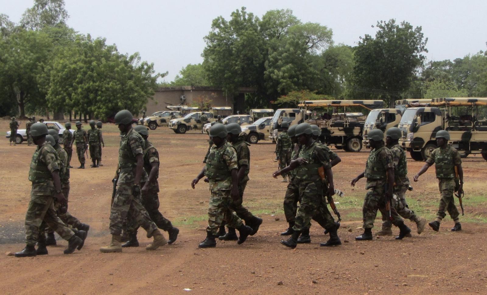 AU troops