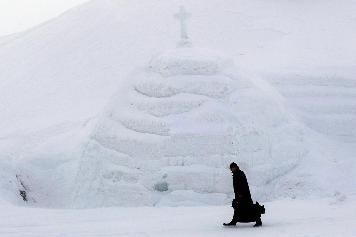 ice church Romania