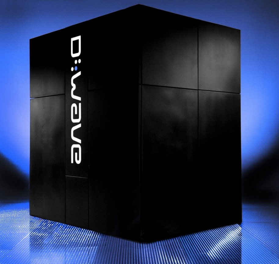 D-wave quantum computer google