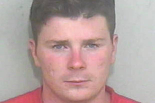 Michael Cawley is wanted by police after caravan was rammed on Essex traveller site