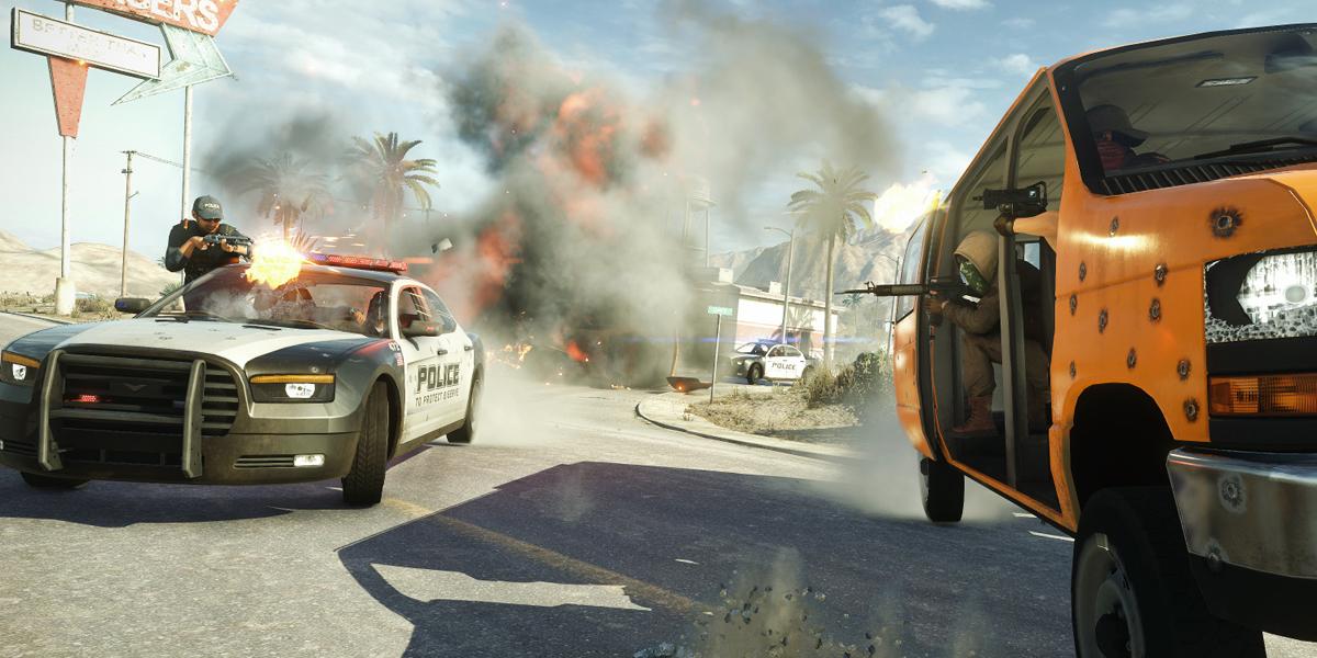 Battlefield Hardline beta hotwire mode