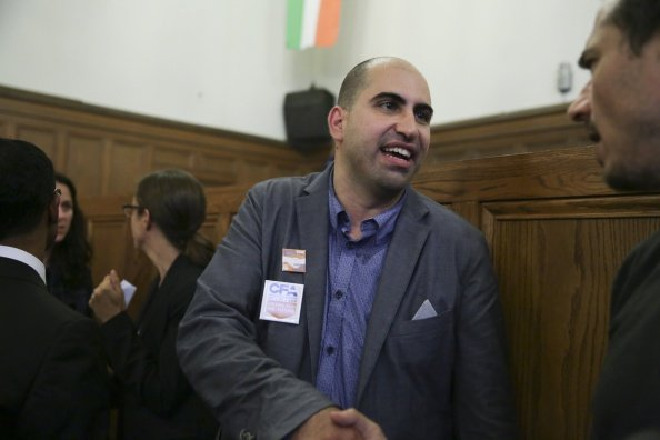 Professor Steven Salaita, who was sacked after tweeting remarks critical of Israel. (Getty)