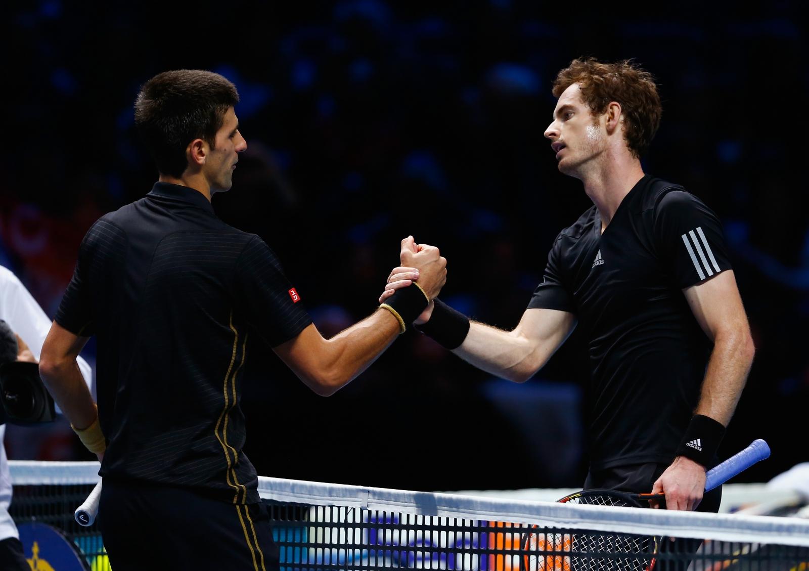 Novak Djokovic v Andy Murray