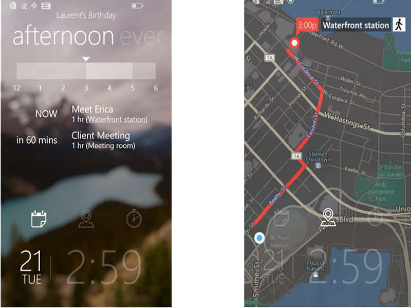 Microsoft Tetra Lockscreen app updated to feature real-time weather and much more, straight on the lockscreen