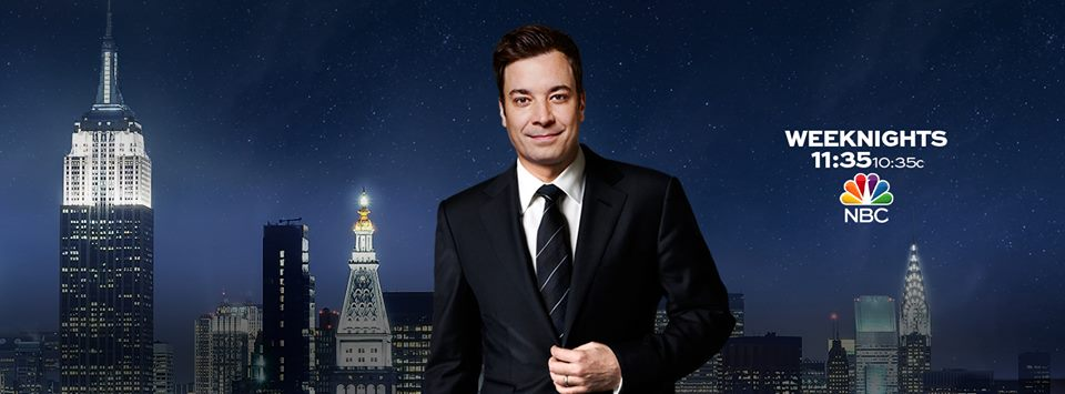 The Tonight Show Starring Jimmy Fallon live after Super Bowl 2015