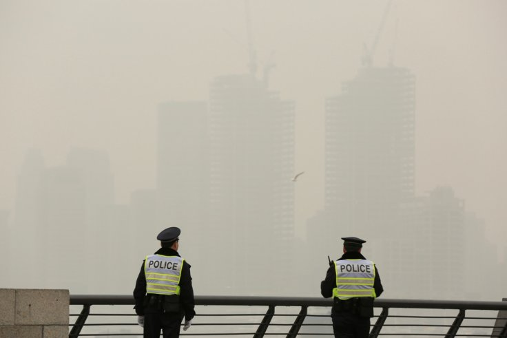 Hazy Day in Shanghai