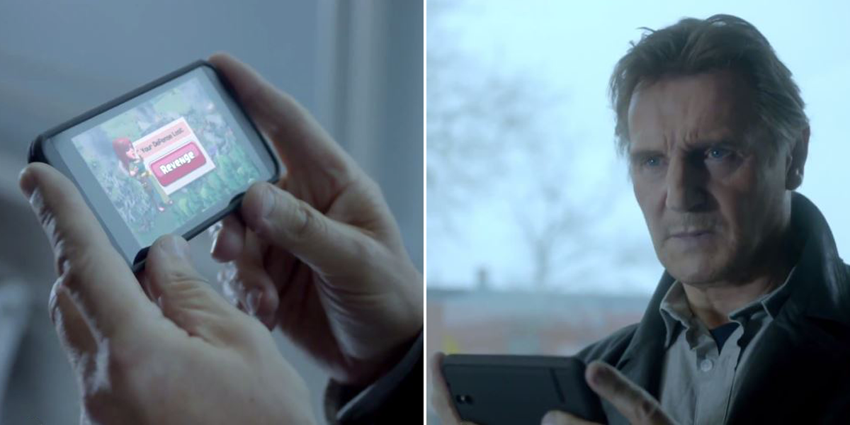Clash of Clans Liam Neeson Super Bowl