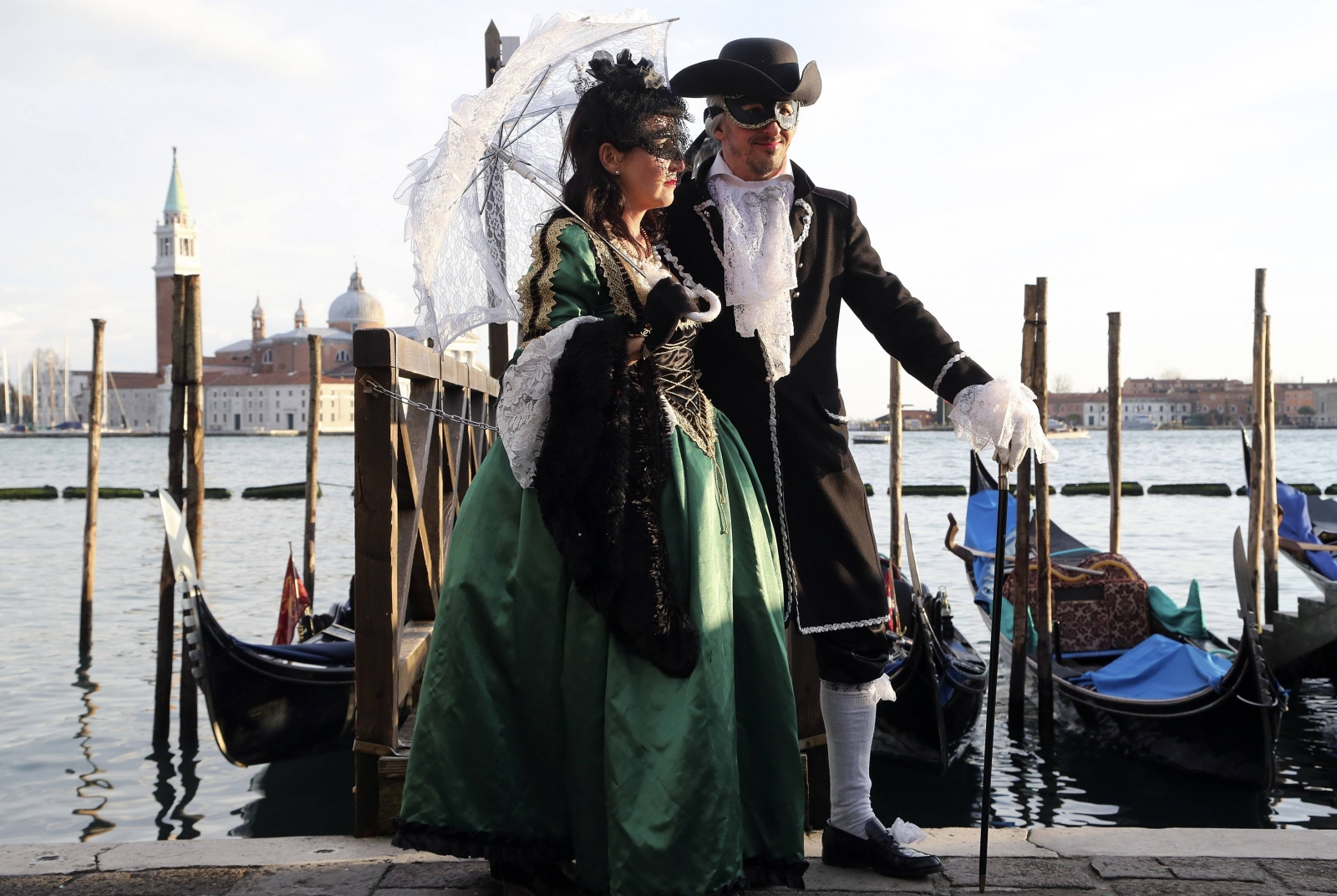 Colourful Venice Carnival afloat for 2015