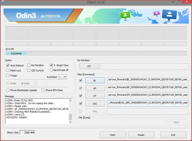 How to install Android 5 0 1 Lollipop I9500XXUHOA7 official