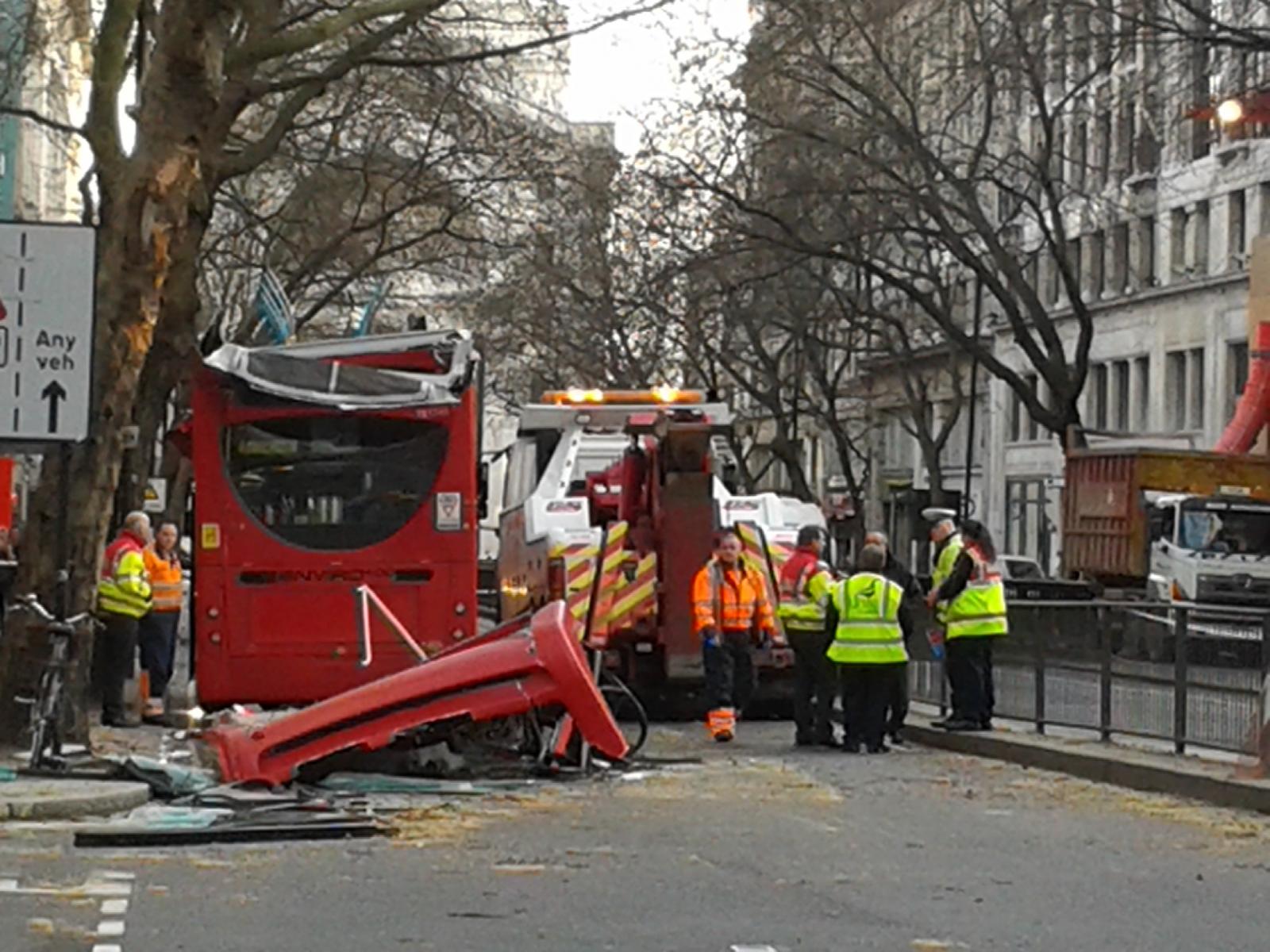 Holborn bus crash