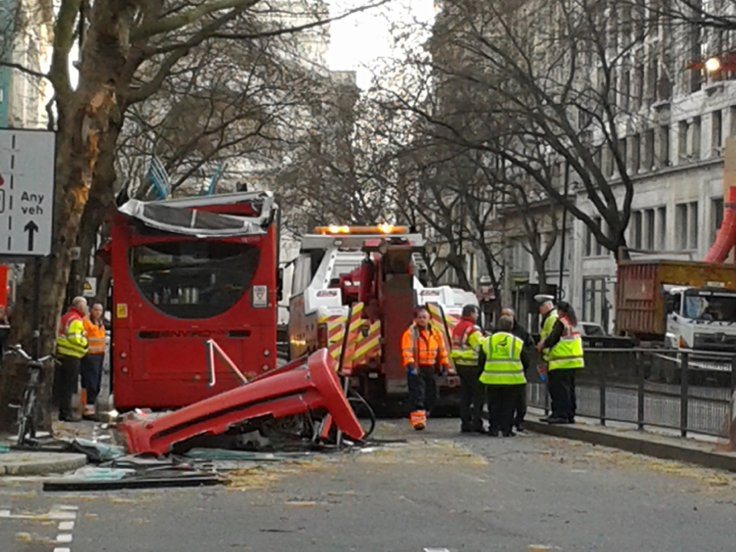Holborn bus crash