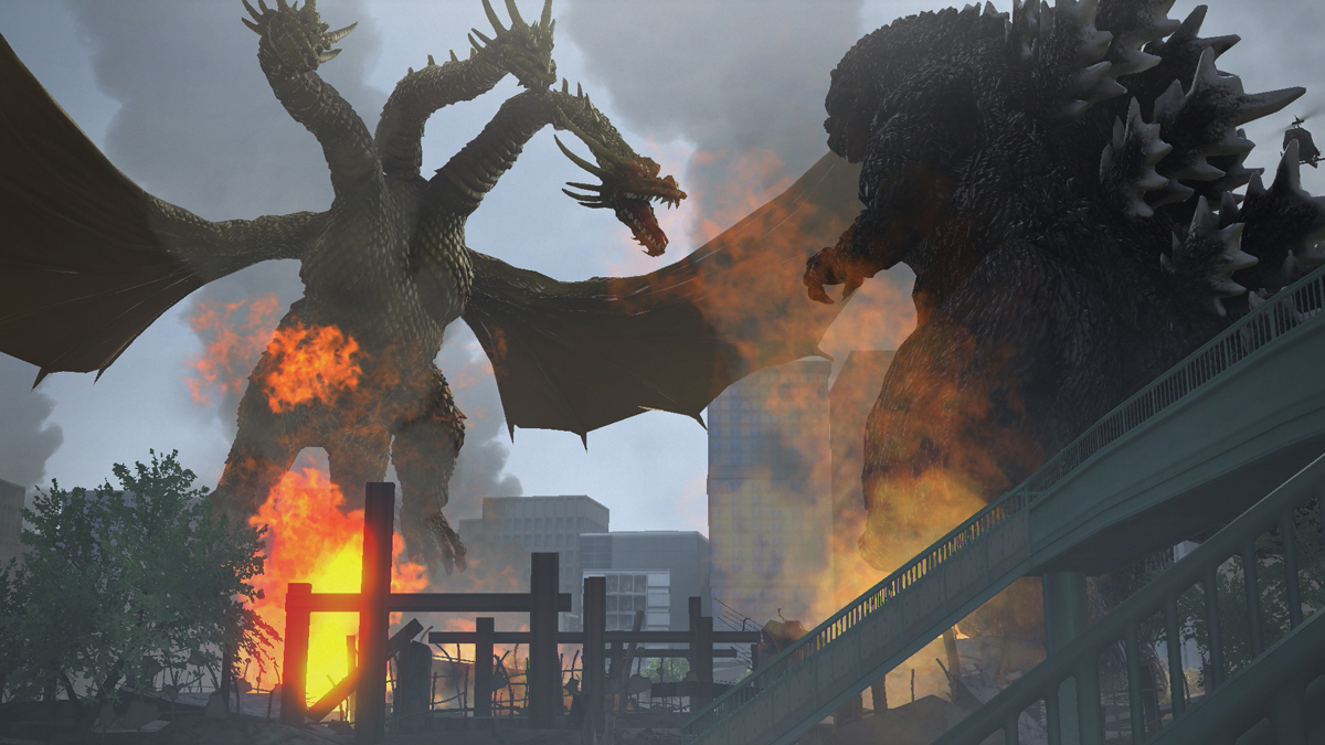 Godzilla Game 2015 Screenshots