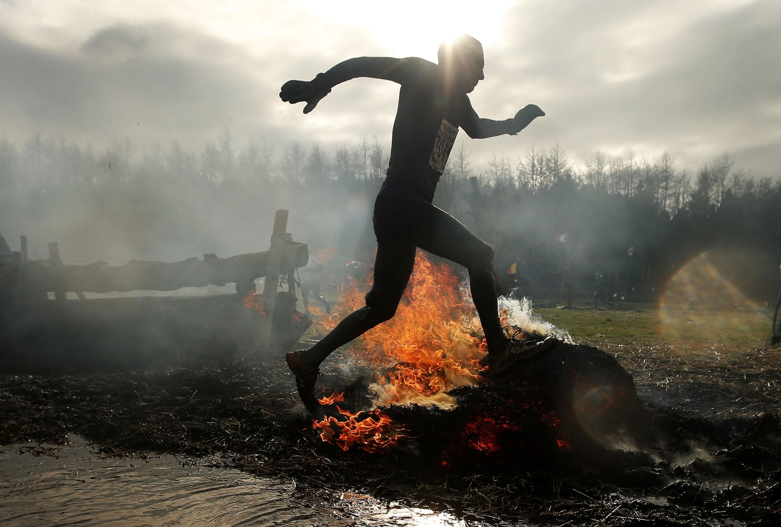Tough Guy 2015: Electric shocks, fire and mud