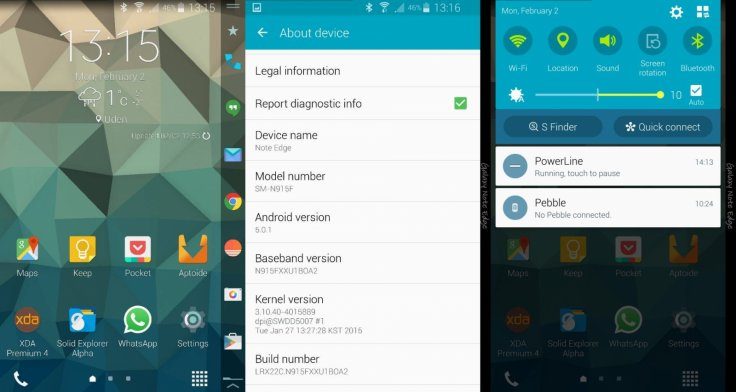 Android 5 0 1 Lollipop XXU1BOA2 test build leaked for Galaxy